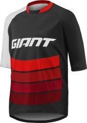 Giant TRANSFER short sleeve cycling jersey black red (E17) 8531654a2