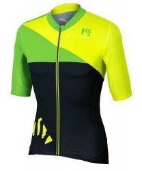 a9926ee37 Karpos VERVE short sleeve cycling jersey yellow fluo black