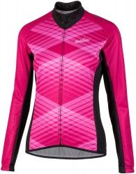 Nalini PRO Lady Ti womens long sleeve cycling jersey black pink (I18-4700 1389de833