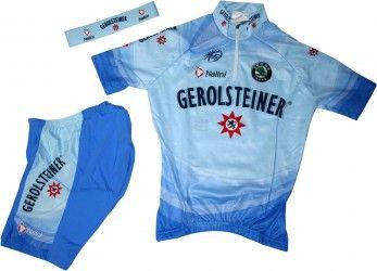 d79e392a8 Gerolsteiner 2007 cycling set for kids (jersey