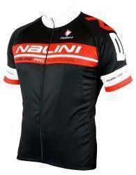 Nalini KENTY short sleeve cycling jersey black red (E19-5100S) ... d1eb18112