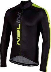 Nalini PRO Nalini LW Jersey long sleeve cycling jersey black yellow  (I18-4050 febc6bc49