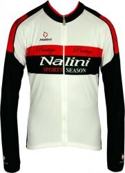 Nalini tenky bicicleta chaqueta invierno negro//rojo