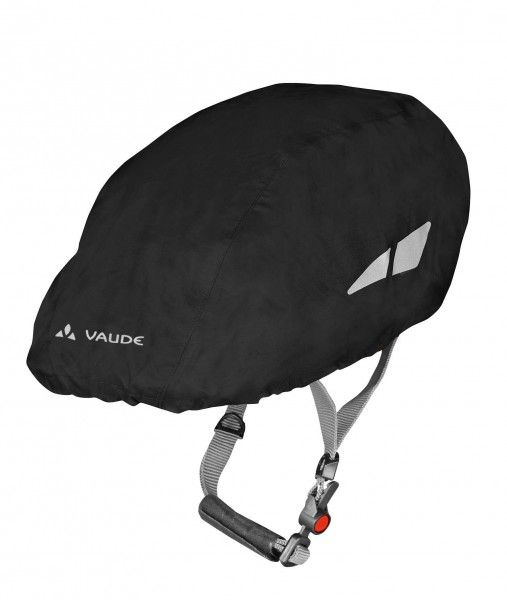 Vaude Helmcover Regenschutz Helmet Raincover schwarz 1