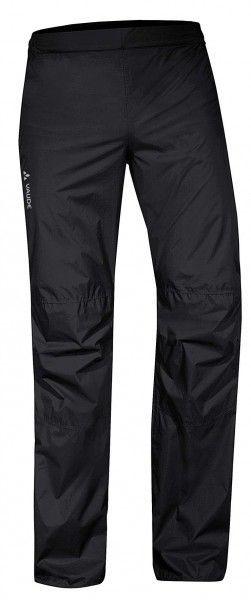 Vaude MEN DROP PANTS II Fahrrad Regenhose (lang) schwarz