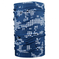 4FUN DIGITAL GREY Schlauchtuch blau weiß 1