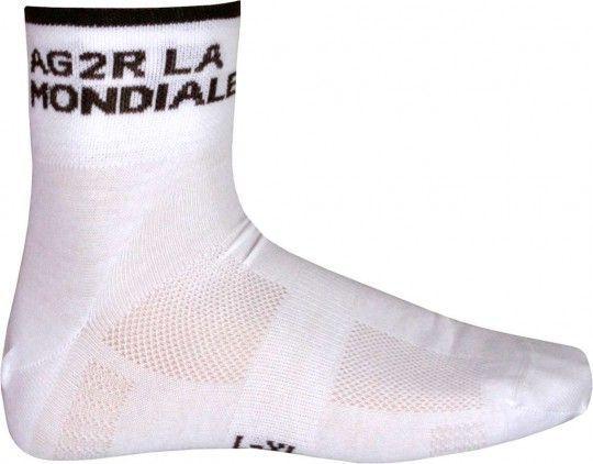 AG2R LA MONDIALE 2015 Coolmax-Socken - Descente Radsport-Profi-Team S-M (36-41 / 5-7.5)