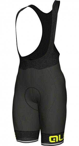 Alé CORSA Trägerhose schwarz neongelb 1