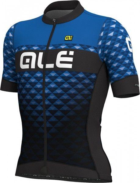 Alé HEXA Radtrikot kurzarm schwarz/blau 1
