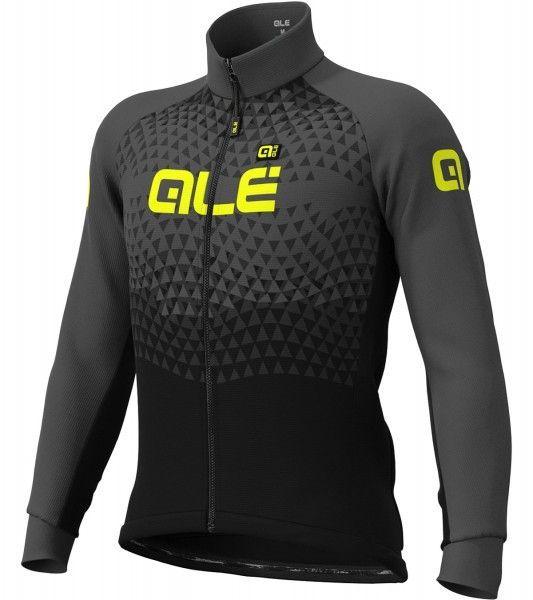 Alé SUMMIT Fahrrad Winterjacke schwarz/grau 1