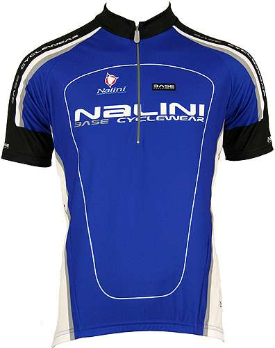 Nalini Base cycling jersey for kids ANTRACITE blue