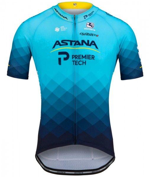 Astana - Premier Tech 2021 Radtrikot kurzarm 1