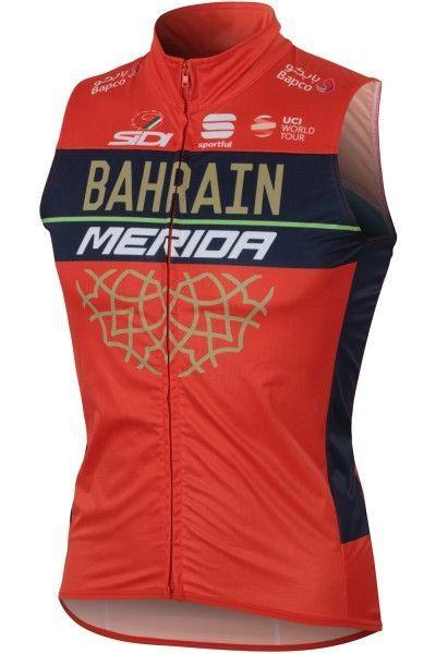 BAHRAIN MERIDA 2018 Weste 1