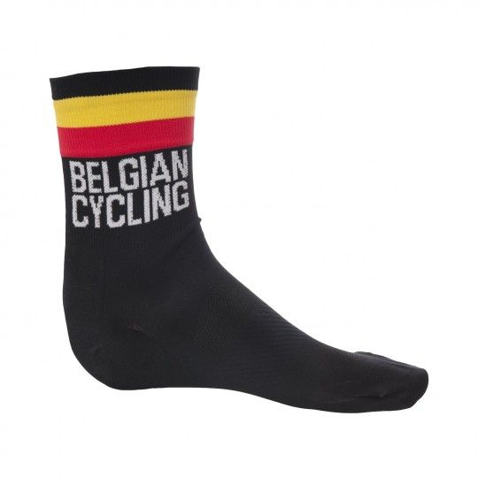 Belgien Nationalteam 2020 Fahrrad Socke schwarz 1