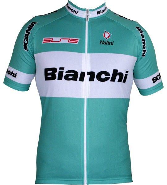 Bianchi 2003 Kurzarmtrikot langer Reißverschluss 1