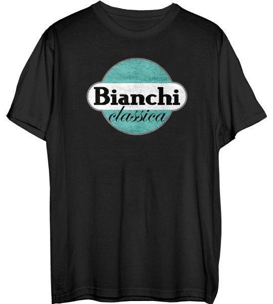 Bianchi CLASSICA T-Shirt schwarz (C9621922-6-BK) Größe M (3)