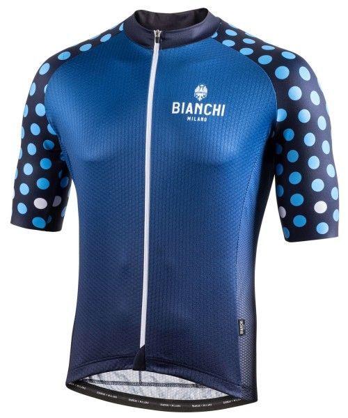 Bianchi Milano Cedrino Radtrikot kurzarm blau 4250 1