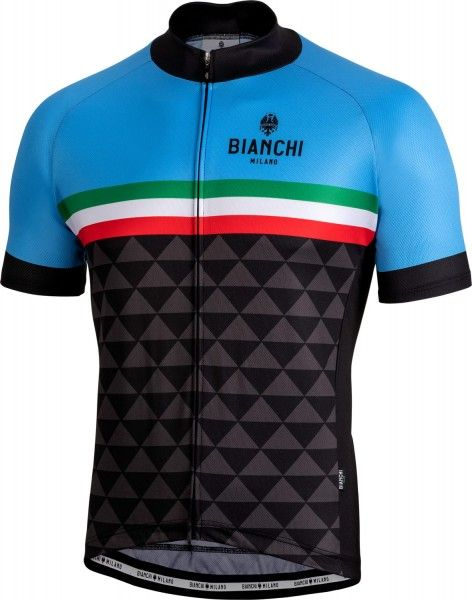 Bianchi Milano CODIGORO Radtrikot kurzarm blau 1