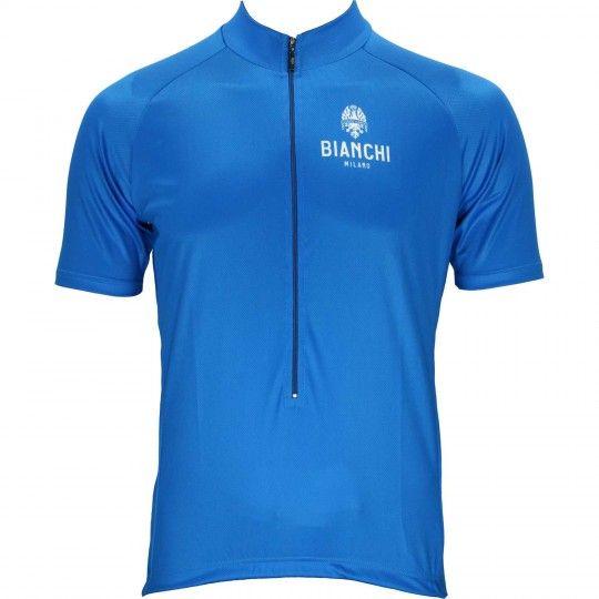 Bianchi Milano EDOARDO Radtrikot blau 1