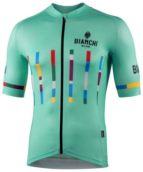 Bianchi Milano FANACO Fahrrad Kurzarmtrikot celeste 1