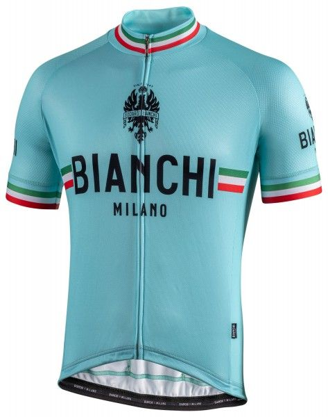 Bianchi Milano Isalle Radtrikot kurzarm celeste 4300 1