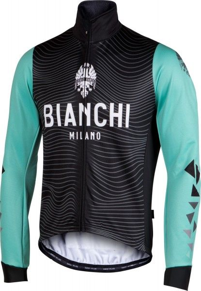 Bianchi Milano Lagundo winter cycling jacket celeste (I18-4300)