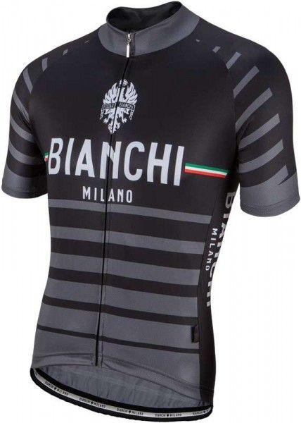 Bianchi Milano Kurzarmtrikot Albatros schwarz 4000 1