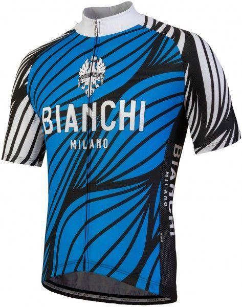 Bianchi Milano Kurzarmtrikot Caina blau 4200 1