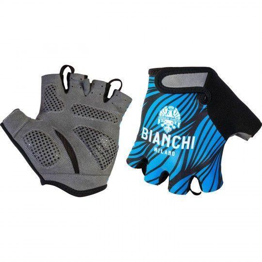 Bianchi Milano Kurzfingerhandschuhe Alvia blau 4200 1