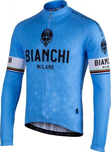 Bianchi Milano Langarmtrikot Leggenda blau 4180 1