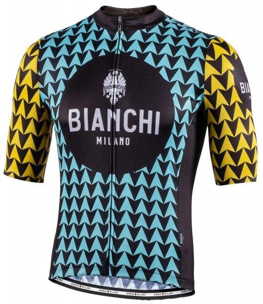 Bianchi Milano Massari Radtrikot kurzarm celeste 4300 1