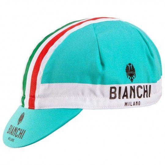 Bianchi Milano NEON Radmütze celeste