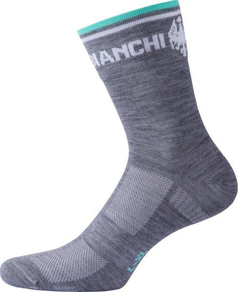 Bianchi Milano PLAUS Radsocken grau (I18-4010) XXL (46-47 / 12-12.5)