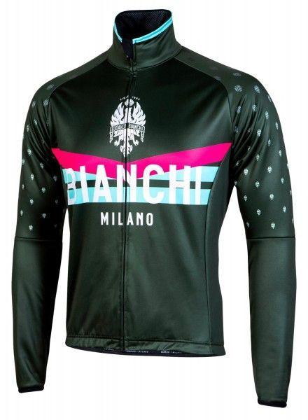 Bianchi Milano Poggio Winterjacke grün 1