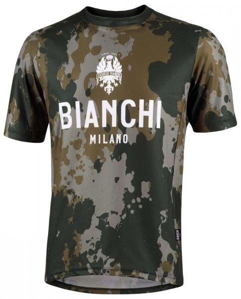 Bianchi Milano POZZILLO MTB Kurzarmtrikot olivgrün/camo 1