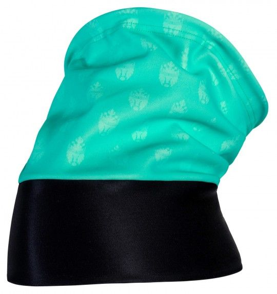 Bianchi Milano SENIO multifunctional headwear celeste/black (I19-4300)