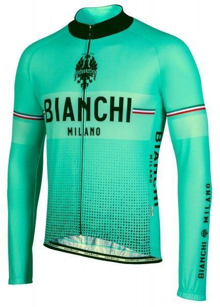 Bianchi Milano Sillaro Radtrikot langarm celeste 1
