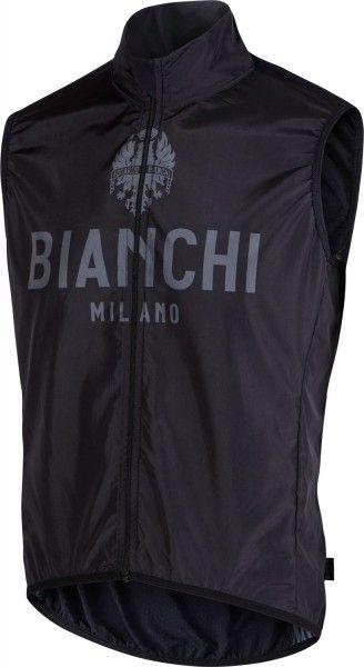 Bianchi Milano Fahrradweste New Passiria schwarz 1