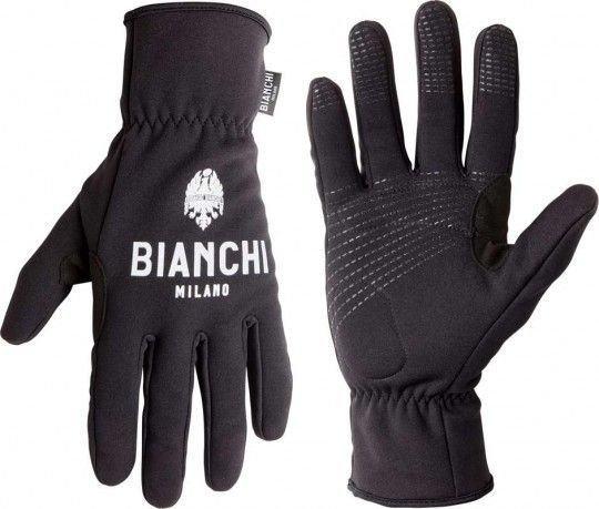 Bianchi Milano OSIO cycling winter gloves black (I19-4000)