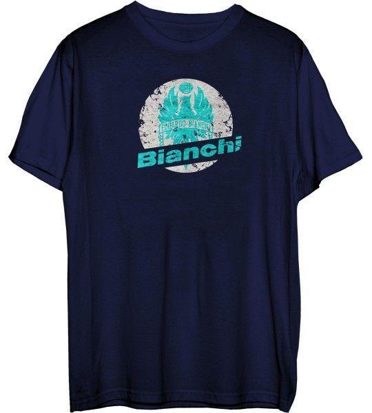 Bianchi STAMP T-Shirt blau 1