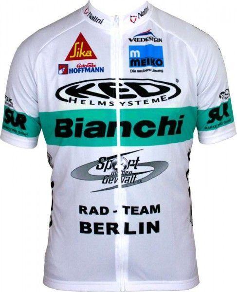 BIANCHI BERLIN Limited Edition Kurzarmtrikot (langer Reißverschluss) - Nalini Radsport-Profi-Team Größe XL (5)