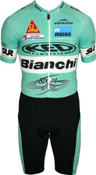 BIANCHI BERLIN skinsuit (short-sleeve) - Nalini professional cycling team size M (3)