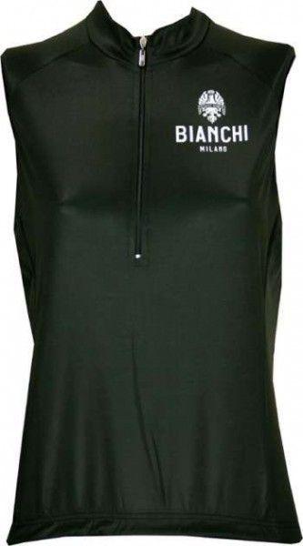 Bianchi Milano FELICE Trikot ohne Arm schwarz (E16-4000)