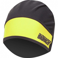 Bioracer PROTECT WINTER HAT Unterhelm Mütze schwarz neongelb 1