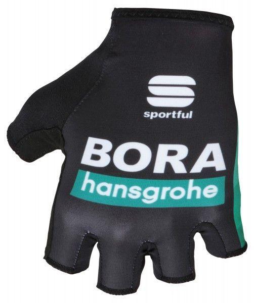 BORA-hansgrohe 2019 Fahrradhandschuhe kurzfinger - Sportful Radsport-Profi-Team Größe L (9)