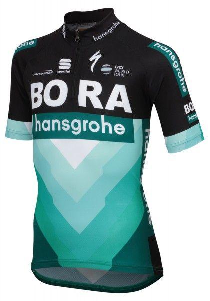 BORA-hansgrohe 2019 kids short sleeve jersey - Sportful professional cycling team