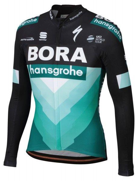 BORA-hansgrohe 2019 Radtrikot langarm - Sportful Radsport-Profi-Team Größe XXL (6)