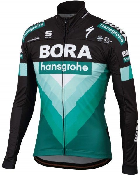 BORA-hansgrohe 2019 Fahrrad Winterjacke 1