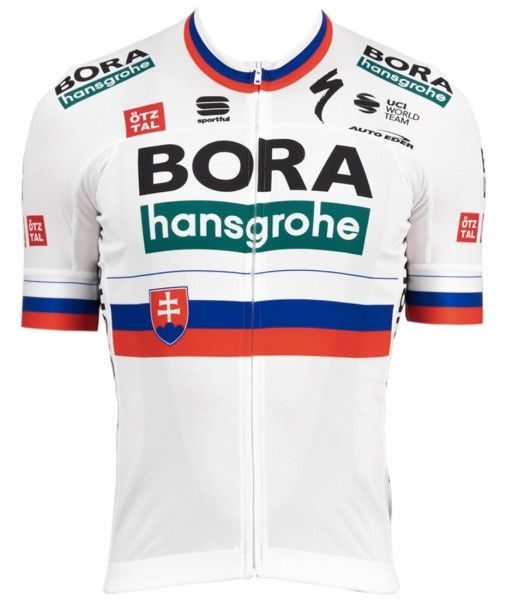 Bora Hansgrohe 2021 slovakischer Meister Radtrikot kurzarm 1