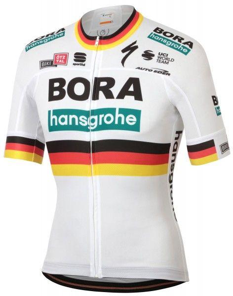 Bora Hansgrohe 2020 deutscher Meister Radtrikot kurzarm 1